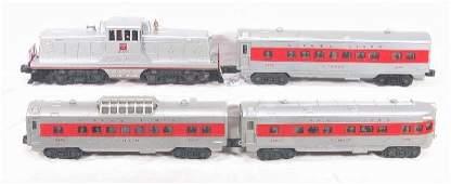 580: NETTE - 4 Pc. LIONEL 629 Passenger Set: