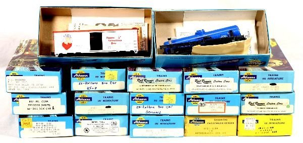 10: NETTE - 20 ATHEARN HO Freight Car Kits: