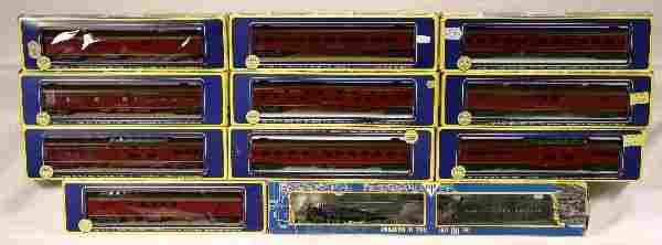 NETTE - 11 Pc. AHM HO N&W Steam Passenger Set