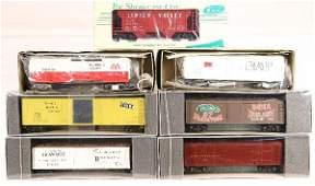 345: NETTE - 7 Modern S Ga. Freight Cars: