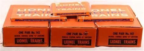 619: NETTE - Boxed LIONEL Super O Track, Switches: