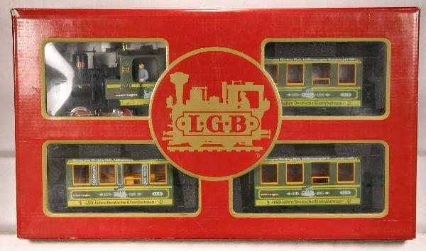 3: NETTE - LGB G Ga. 150 Yr, Anniversary Pass. Set: