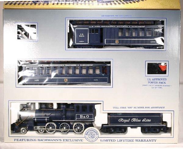 18: NETTE - BACHMANN G GA Royal Blue Passenger Set: