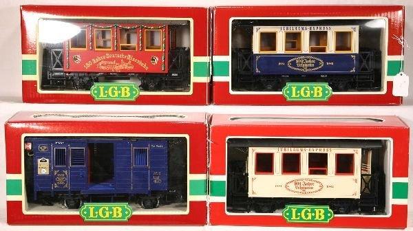 24: NETTE - 4 LGB G GA. Cars: