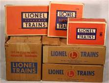 58: NETTE - 6 Pc. Boxed LIONEL Track, Switch Lot: