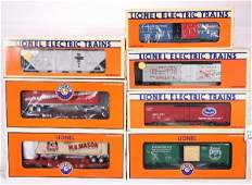 229: NETTE - 7 LTI Freight Cars: