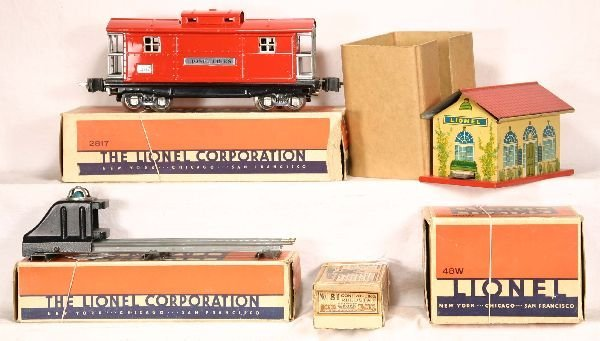335: NETTE - 4 Pc. Boxed LIONEL Lot: