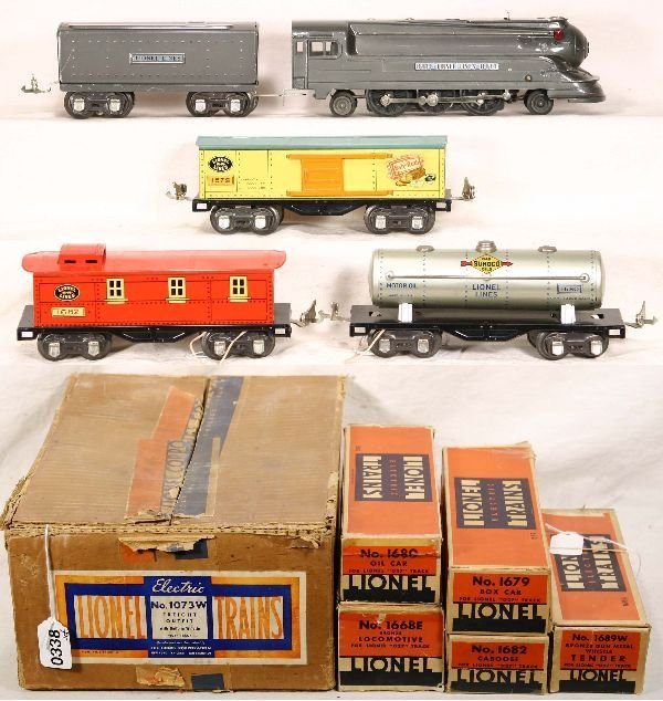 338: NETTE - Boxed LIONEL Set 1073W: