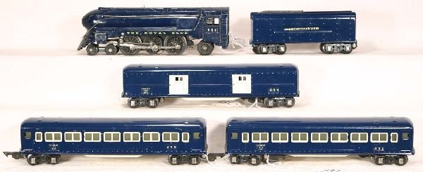 342: NETTE - AM FLYER  Royal Blue Passenger Set: