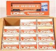 639: NETTE - 12 Pc. Case LIONEL/ MPC MR Pass. Cars: