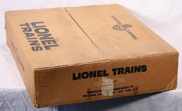 10: NETTE - Rare Empty LIONEL Set Box X-691: