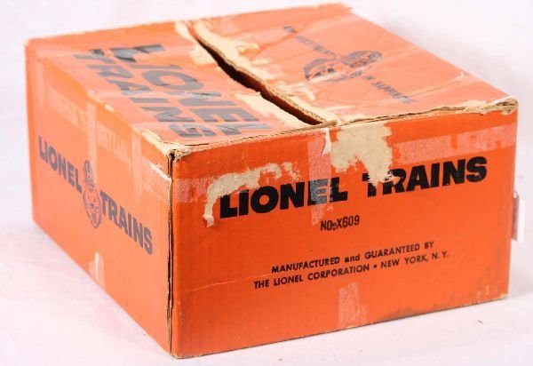 12: NETTE - Rare Empty LIONEL Set Box X-609: