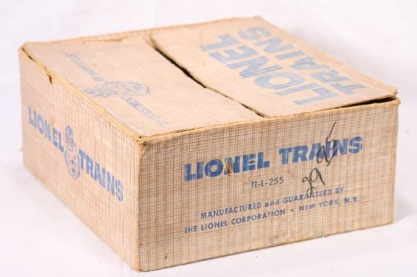 14: NETTE - Tough Empty LIONEL Set Box 11-L-255: