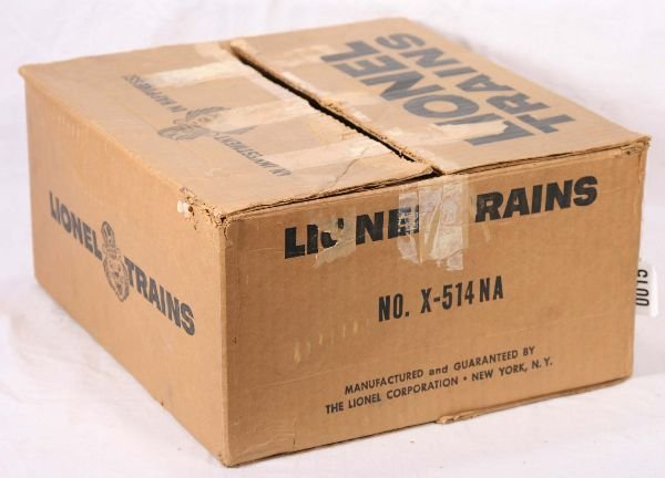 15: NETTE - Empty LIONEL Set Box X-514NA: