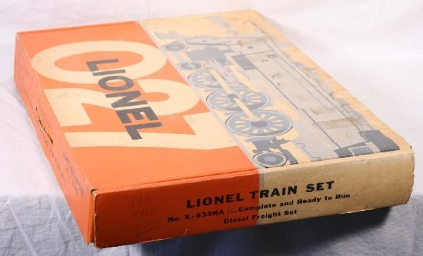 17: NETTE - Empty LIONEL Set Box X-533NA: