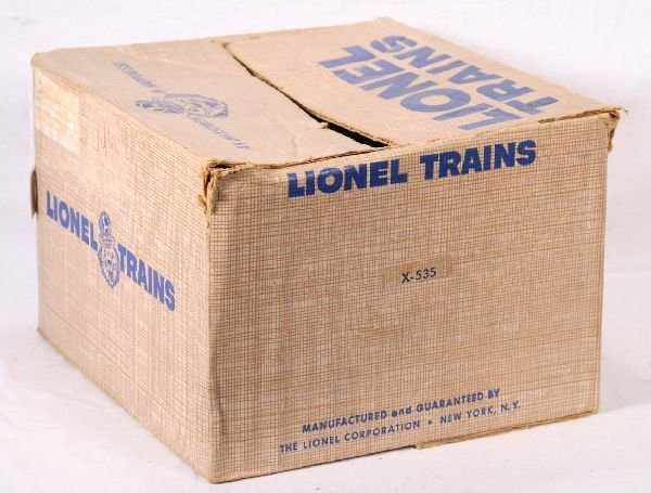 21: NETTE - Empty LIONEL Gimbals Set Box X-535: