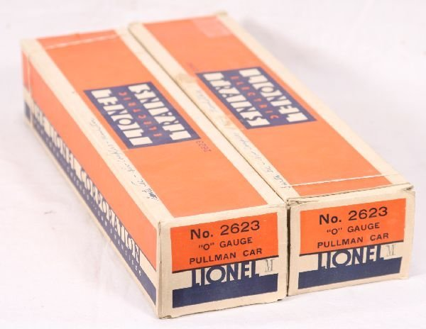 69: NETTE - 2 Nice Empty LIONEL 2623 Manhattan Boxes: