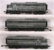 164: NETTE - MTH NYC F3 ABA Diesels:
