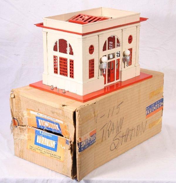 325: NETTE - Boxed LIONEL 115 Station: