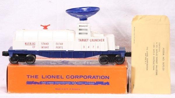 327: NETTE - Mint Boxed LIONEL 3470 Aerial Target Launc