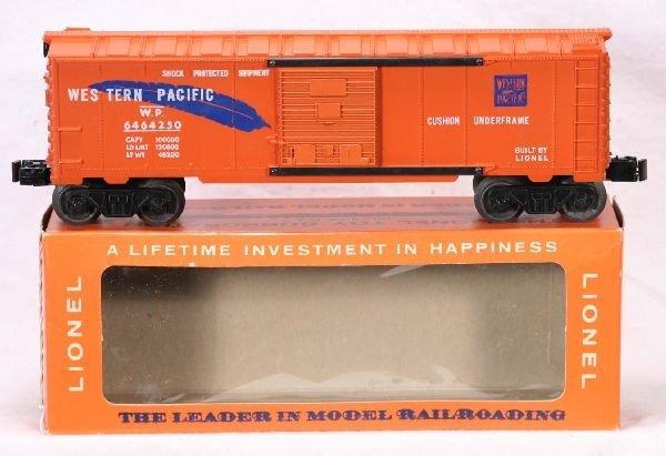 330: NETTE - Mint Boxed LIONEL 6464-250 WP Boxcar: