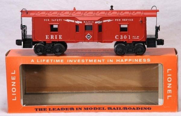 334: NETTE - Mint Boxed LIONEL 6517-75 Erie Caboose:
