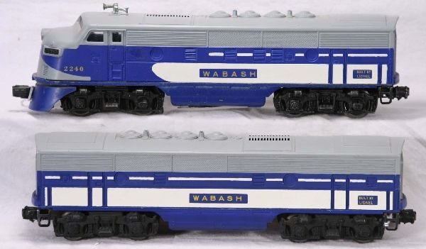 335: NETTE - LIONEL 2240 Wabash F3 AB Diesels: