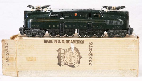 336: NETTE - Nice Boxed LIONEL 2332 PRR GG1 Electric: