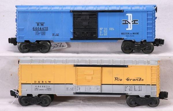 337: NETTE - 2 Unrun LIONEL 6464  Boxcars: