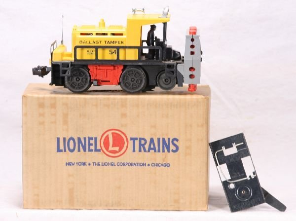 349: NETTE - LN Boxed LIONEL 54 Ballast Tamper: