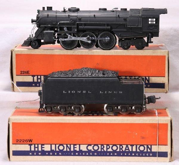 986: NETTE - Boxed LIONEL 226E Hudson Loco: