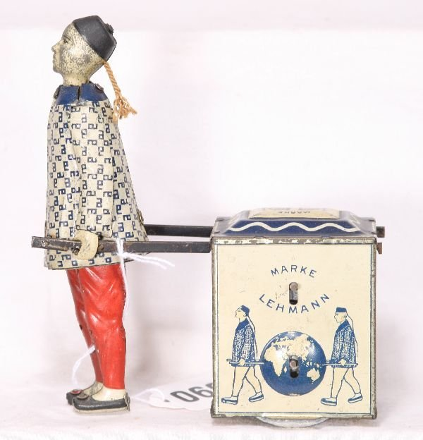 609: NETTE - LEHMANN NU-NU Chinese with Tea Chest: