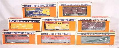 996: NETTE - 8 LTI Freight Cars: