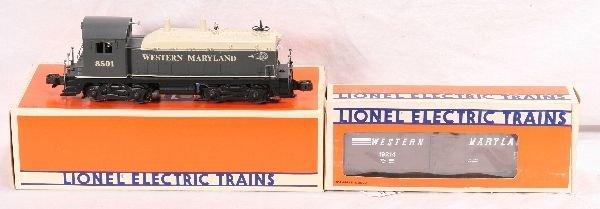 11: NETTE - LTI 18501 WM NW-2 Diesel & Boxcar: