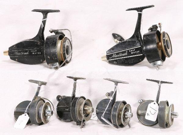 17: NETTE - 6 LIONEL/AIREX Masterreel & Standard Fishin