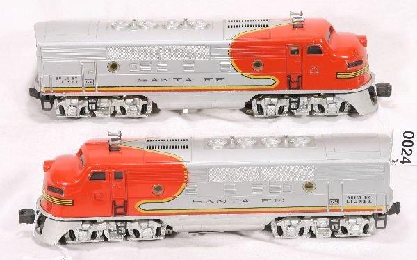 24: NETTE - LIONEL 2353 SF F3 AA Diesels: