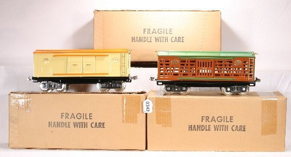342: NETTE - 3 Early MTH 200 Series Freights: