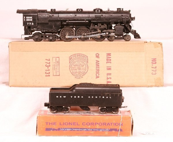 763: NETTE - Nice Boxed 1964 LIONEL  773 Hudson: