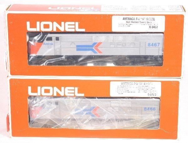 3: NETTE - LIONEL/MPC 8466 & 8467 Amtrak F3 AA Diesels: