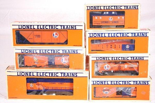 5: NETTE - 7 Pc. LTI Lionel Lines Freight Set: