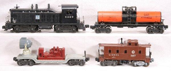 15: NETTE - 4 Pc. LIONEL 6220 Diesel Freight Set: