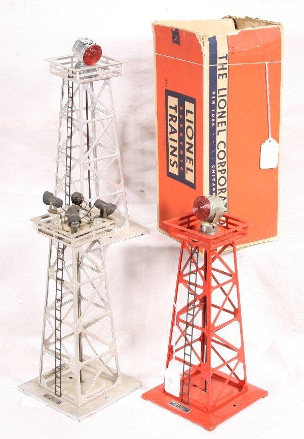 24: NETTE - 3 LIONEL Light Towers: