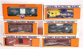 43: NETTE - 6 LTI Freight Cars:
