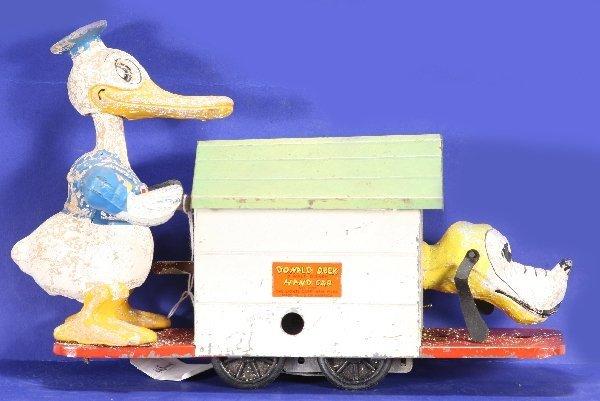 152: NETTE - LIONEL 1107 Donald Duck Hand Car: