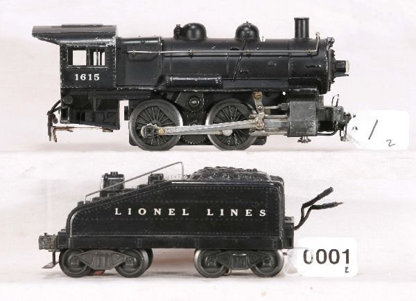 1: NETTE - LIONEL 1615 Steam Switcher:
