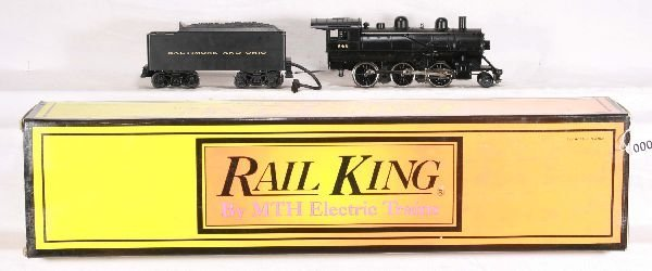 7: NETTE - MTH RailKing 30-1137-1 B&O Steam Loco: