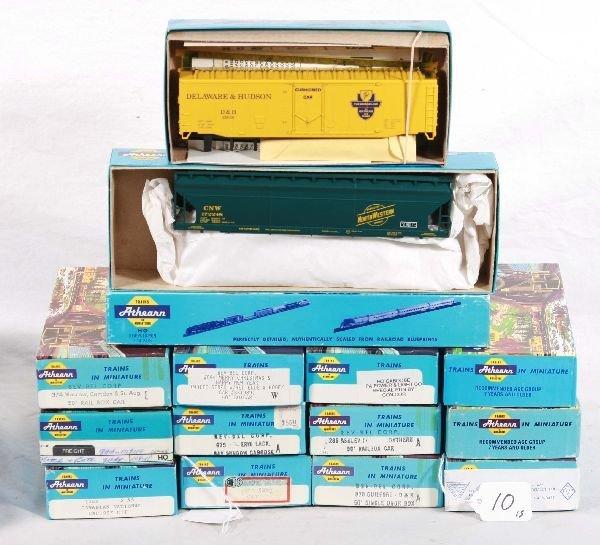 10: NETTE - 15 ATHEARN HO Freight Car Kits: