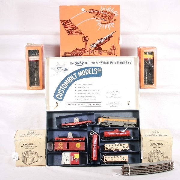 20: NETTE - 7 Unit LIONEL/AM FLYER HO Lot: