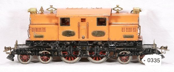 335: NETTE - IVES 3243 4-4-4 Electric Loco: