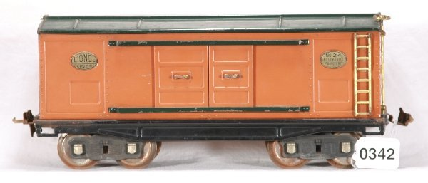 342: NETTE - Early LIONEL 214 Boxcar: